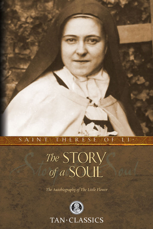 Story-of-a-Soul-by St Theresa of Lisieux book cover