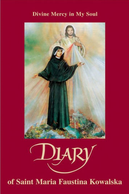 The Diary of St Faustina book cover
