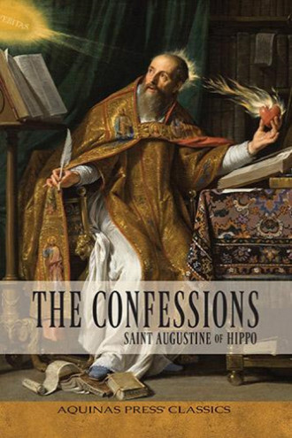 confessions of st. augustine book cover
