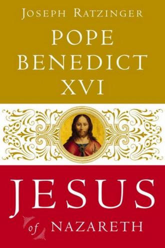 jesus-of-nazareth-pope Benedict XVI book cover