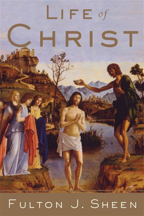 Life of Christ Fulton Sheen book cover