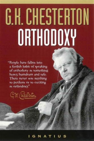 Orthodoxy chesterton book cover